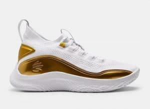 """Curry 8 Golden Flow"" รองเท้าบาสเกตบอลประจำตัวของ Stephen Curry"