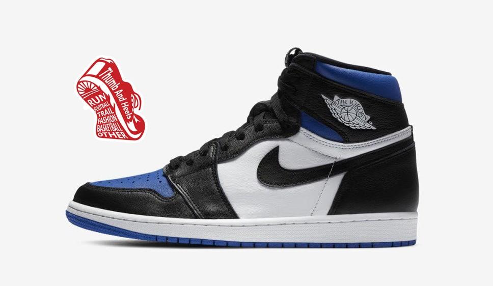 """Nike Air Jordan 1 Retro High OG Royal Toe"" รองเท้าที่ขายหมดไวเพราะซีรีส์ The Last Dance"
