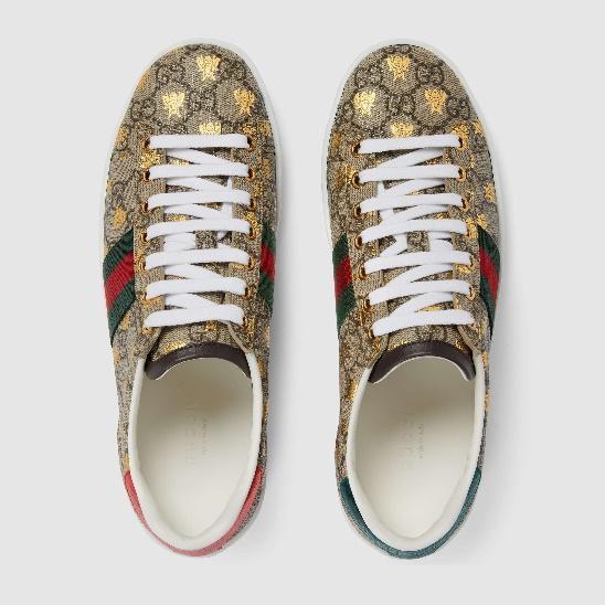 รีวิวรองเท้า รองเท้าผ้าใบ gucci