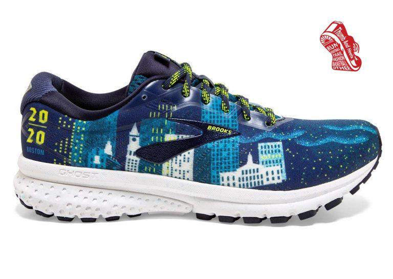รองเท้าวิ่ง Brooks Ghost 12 Run Boston Edition